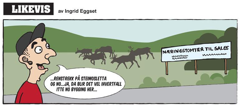 Reinstrekk - Likevis av Ingrid Eggset