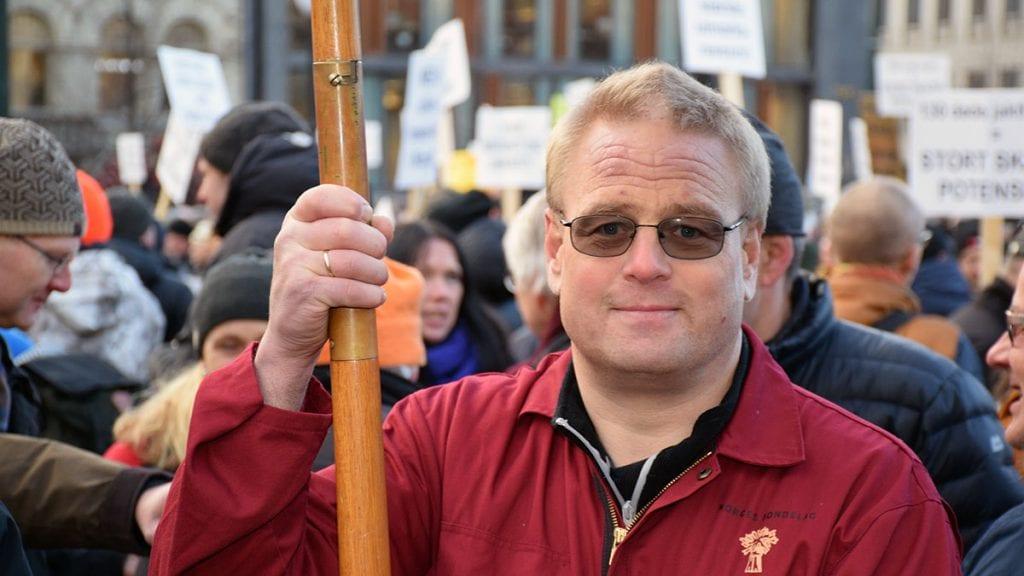 INN SOM FYLKESMEDLEM: Geir Lohn ble torsdag valgt inn som fylkesmedlem i Hedmark Bondelag. Han gleder seg til å ta fatt på de nye oppgavene. Arkivfoto: Tore Rasmussen Steien.