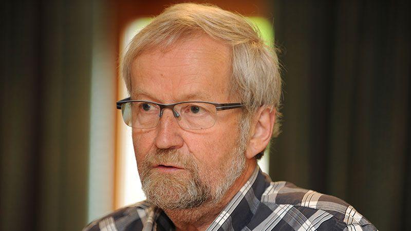 SKAL ARBEIDE FOR BARKALD STASJON: Per Hvamstad og Fortidsminneforeningen skal arbeide viere for at Barkald stasjon skal bestå. Arkivfoto: Ivar Thoresen