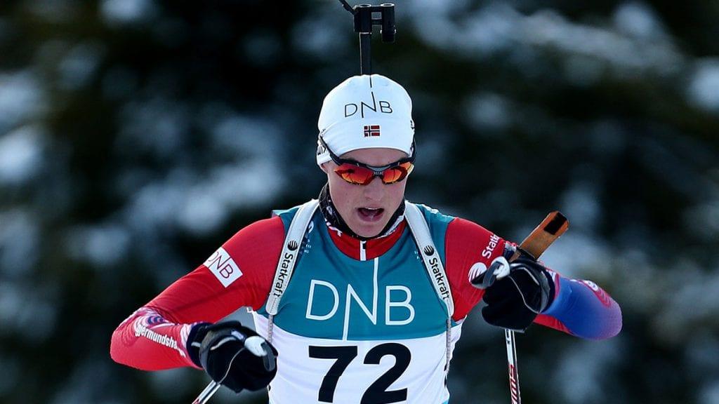 HÅPER DET LØSNER: Skiskytter Vegard Bjørn Gjermundshaug håper at helgas NM går bedre enn tidligere løp denne sesongen. Arkivfoto: Ivar Thoresen.
