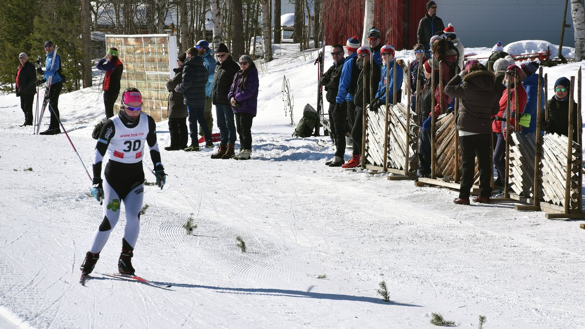 ANDRE ALVDØL OVER FJELLET: Ellen Merethe Schjelderup kom inn nest sist i klassen K21-30.