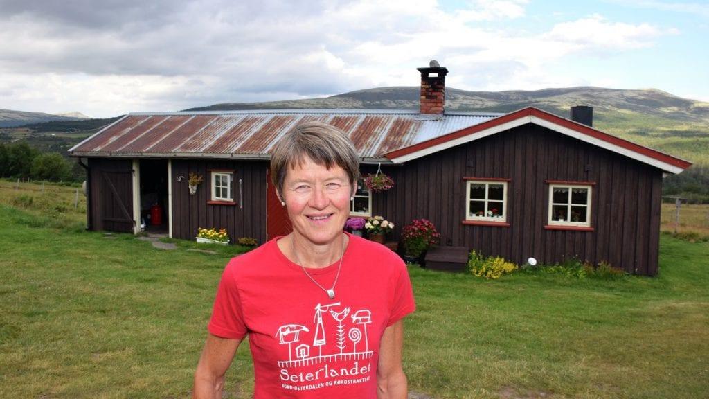 FJELLOPPLEVELSER: Hedmark Fylkeskommune ønsker at flere skal gjøre som Anne Berit Gjermundshag og tilby overnatting på setra. Foto: Tore Rasmussen Steien