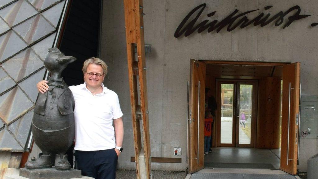 GOD START: Daglig leder ved Aukrustsenteret, Kjell-Erik Nordahl, mener den første sommeren har vært lærerik. Nå ser han videre fremover. Foto: Tore Rasmussen Steien