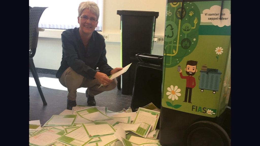 TAKKNEMLIG: Kommunikasjonssjef Hanne Maageng Olsen er glad mange kom med innspill. Foto: privat