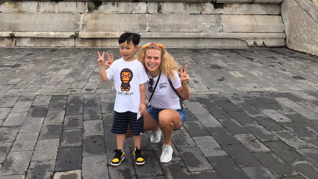 Har trent opp kinesere til OL