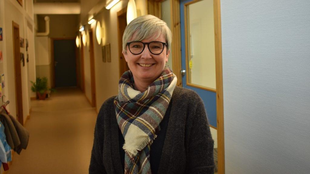 GLADMELDNING: Enhetsleder for helse, Anita Engelberg, er fornøyd med at kommunen har mottatt fire søknader til stillingen som kommunelege to. foto: Torstein Sagbakken.