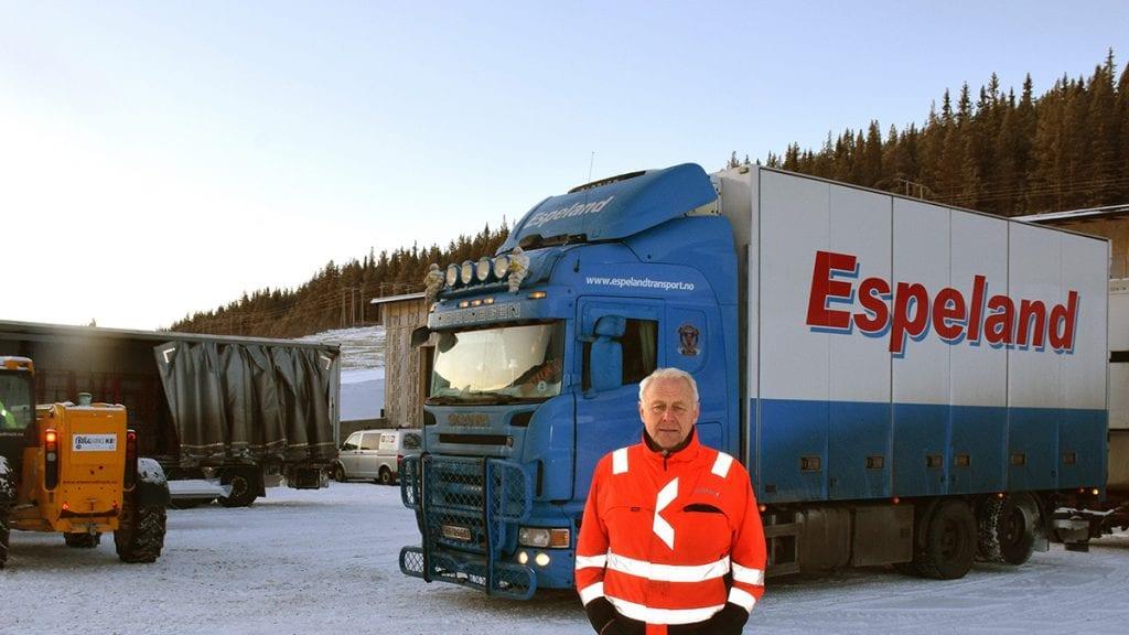 FULLT: Nå er det ikke plass til mer etablering på Paureng, men Inge Espeland tror potensialet er stort. Foto: Tore Rasmussen Steien