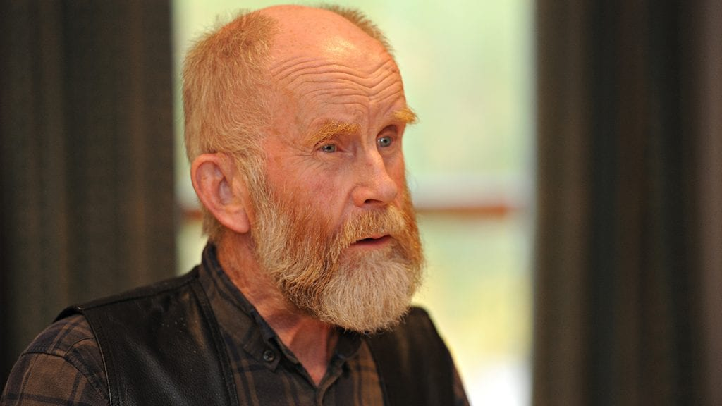 SER MOT VENSTRE: Arne Dagfinn Øynes er ikke i tvil om at det er riktig å se mot venstresiden i politikken. Foto: Ivar Thoresen