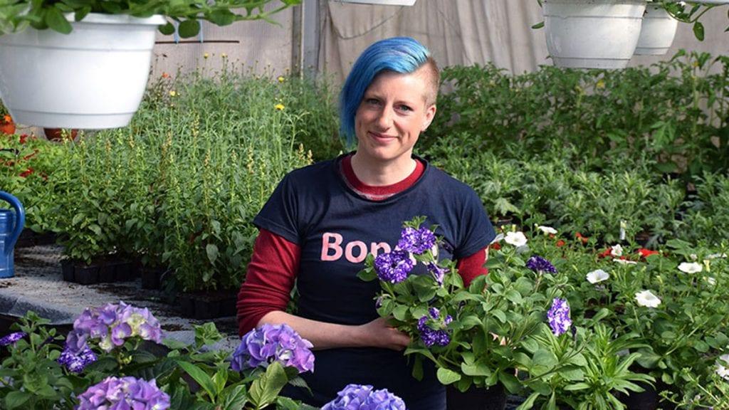 BLI MED: Anne Goro Øynes og bondelaget vil ha med flest mulig til Berlin. Foto: Tore Rasmussen Steien