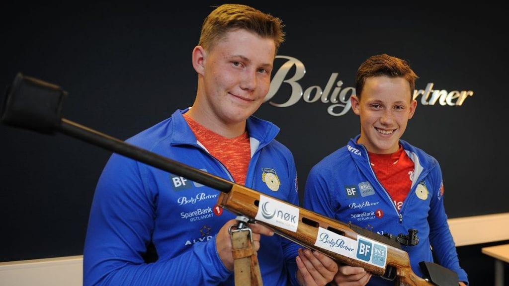 SEIER: Martin Strypet, til venstre, gikk til topps i sin klasse. Her er han avbildet sammen med Jørn Strypet. Foto: Ivar Thoresen