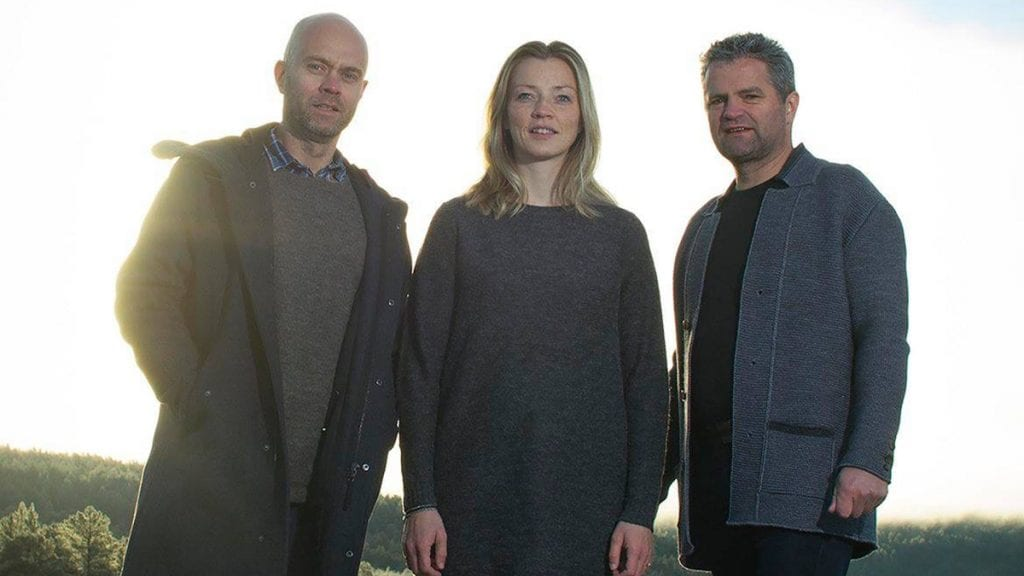 SØNVIS: Sønvis består av Vegar Dahl(fra venstre),Kirsti Sæter og Jo Ryen. Foto: privat