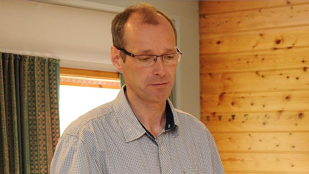BERØMMER DE ANSATTE: Per Arne Aaen skryter av hvordan de berørte ansatte har taklet prosessen. Foto: Ivar Thoresen