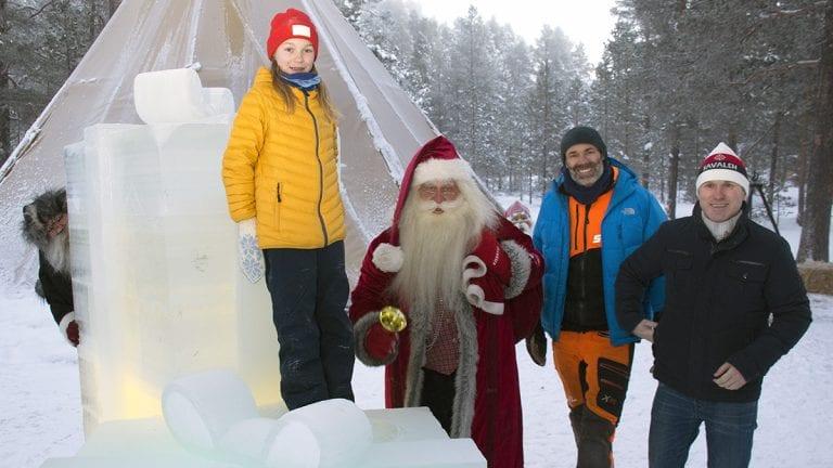 Frister med 20 tonn julegaver
