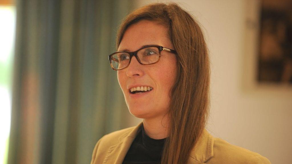 NY ACCOUNTOR-SJEF: Mari Kveberg blir ny daglig leder for Accountor Pro. Foto: Ivar Thoresen