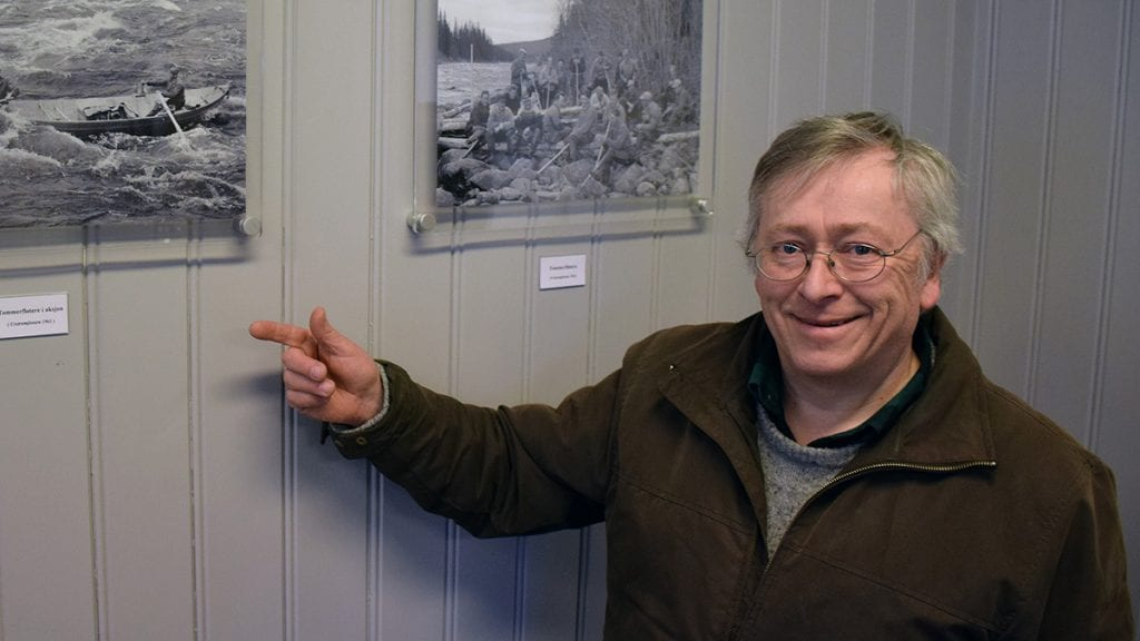STILLER OPP: Bjørn Langleite er en av tre fotografer fra Alvdal fotoklubb som stiller under junior-NM på Savalen. Foto: Tore Rasmussen Steien