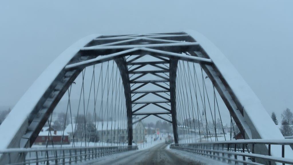 SNØ: Det har kommet noe snø i Alvdal den siste måneden, men den neste uka kommer det ikke mye mer. Arkivfoto: Torstein Sagbakken.