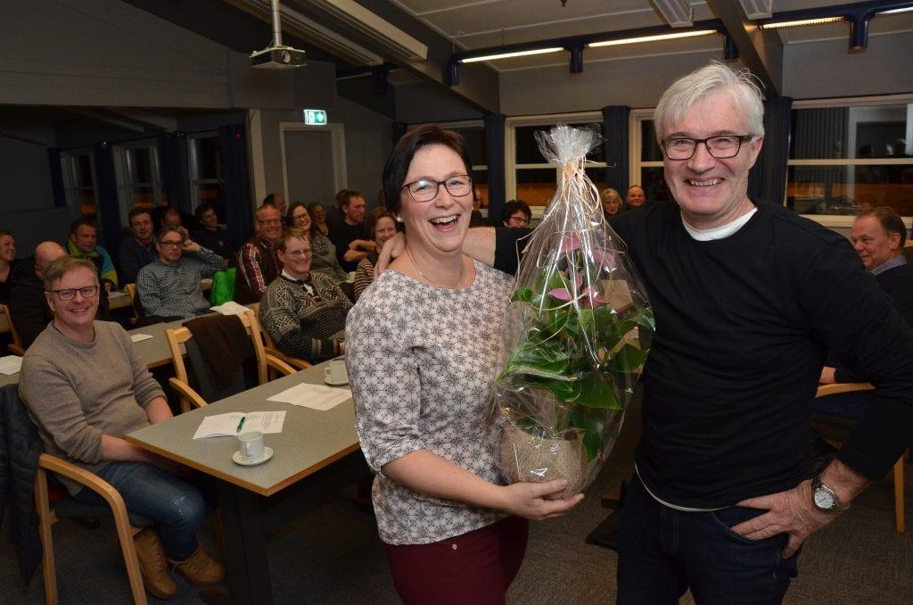 BESTE LOKALLAG: Alvdal Senterparti ble kåret til årets lokallag i Hedmark i 2019. Her fra årsmøtet i Alvdal SP. Foto: Erland Vingelsgård