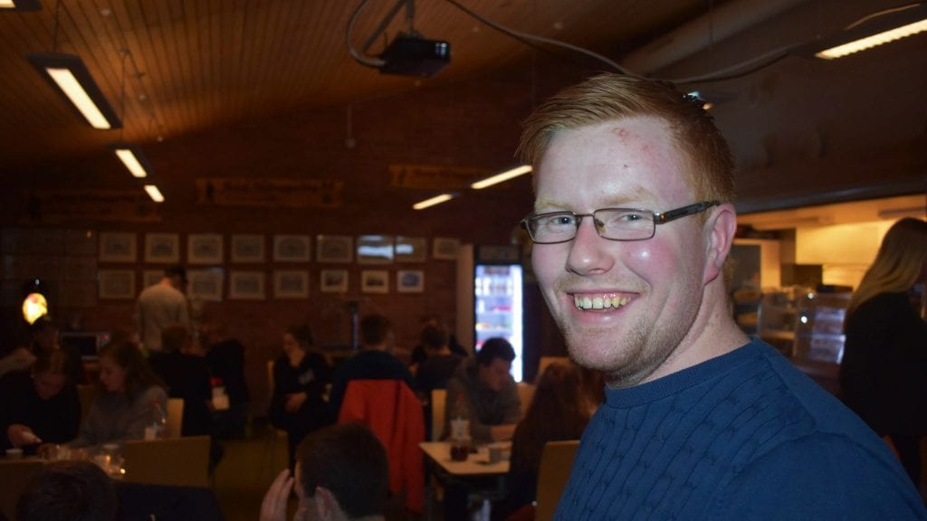 VIL HA DEG MED: Knut Harald Skogli og Alvdal Bygdeungdomslag håper flest mulig blir med på faste swing-kvelder mandagene fremover. Arkivfoto: Torstein Sagbakken.