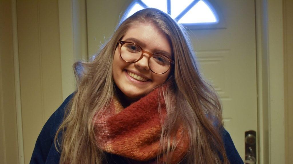 TRIVES I OSLO: Selv om Malin Sørhus er vant til bygda Alvdal, trives hun strålende som student i Oslo. Foto: Torstein Sagbakken.