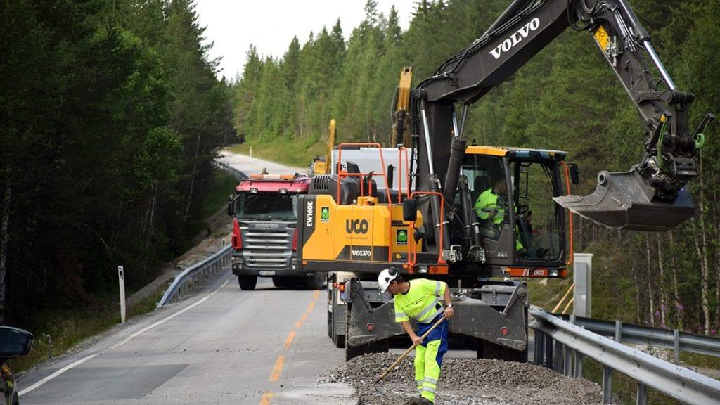 IKKE RASKERE: Nye Veier klarer ikke å bygge veger raskere, mener tillitsvalgte i Statens vegvesen. Illustrasjonsfoto: Tore Rasmussen