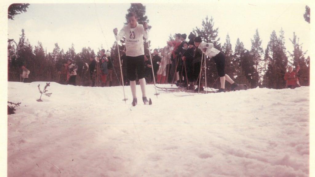 BLE NUMMER SJU: Sigurd Thoresen, som gikk for Garden, ble nummer sju med sitt lag under NM-stafetten i Alvdal i 1969. Foto: Privat.