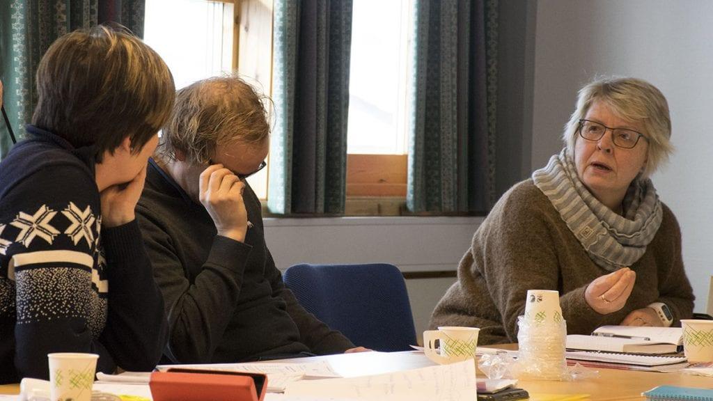 BEHANDLES I AMU: Personalsjef Ingrid Storrøsæter har tatt opp saken med AMU og leder Liv Gjermundshaug Thoresen. Foto: Tore Rasmussen Steien