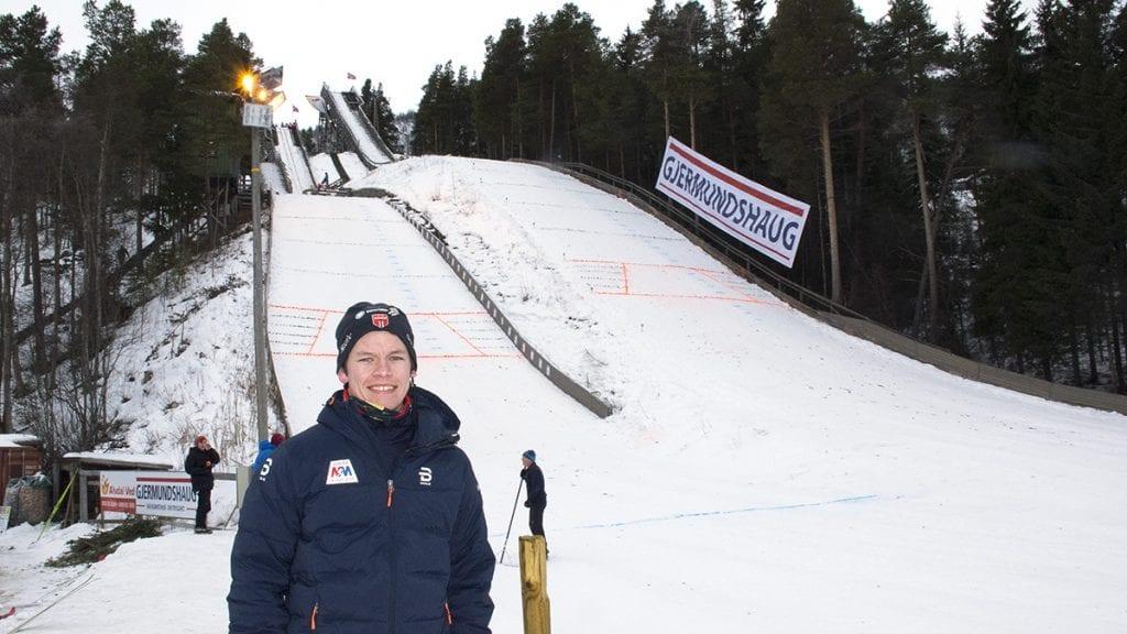 UNG MANN MED FULL KONTROLL: Jonas Heggset var leder under Solan Gundersens vinterleker. Foto: Tore Rasmussen Steien