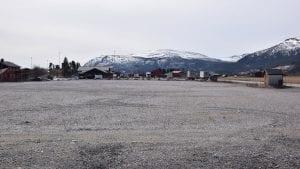 INNSIGELSE: Statens vegvesen varlser innsigelser mot dagligvare på Seimosletta. Foto: Tore Rasmussen Steien