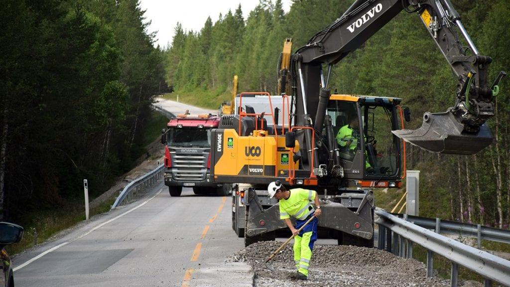BREDDEUTVIDER: Vegvesenet har planen klar for breddeutvidelse av riksveg 3 i Alvdal. Foto: Tore Rasmussen Steien