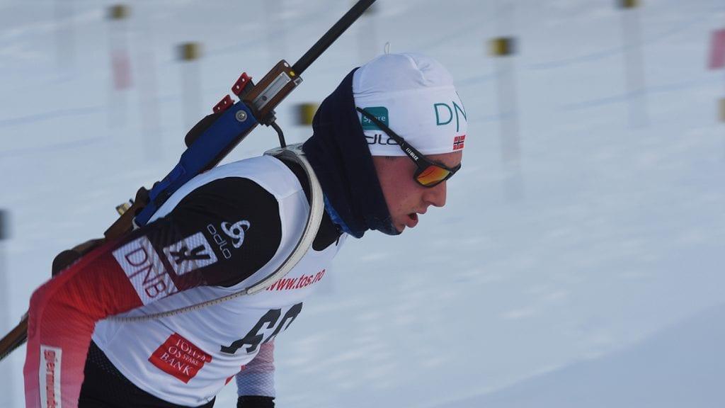 SER FRAM MOT EM: Et håp om internasjonale konkurranser lever fortsatt for Vegard Bjørn Gjermundshaug. Men da må han prestere topp på søndagens jaktstart. Foto: Jan Kristoffersen