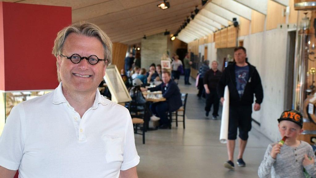ENDELIG FERDIG: Kjell Erik Nordahl stråler over å endelig være ferdig med rettsaken. Foto: Tore Rasmussen Steien