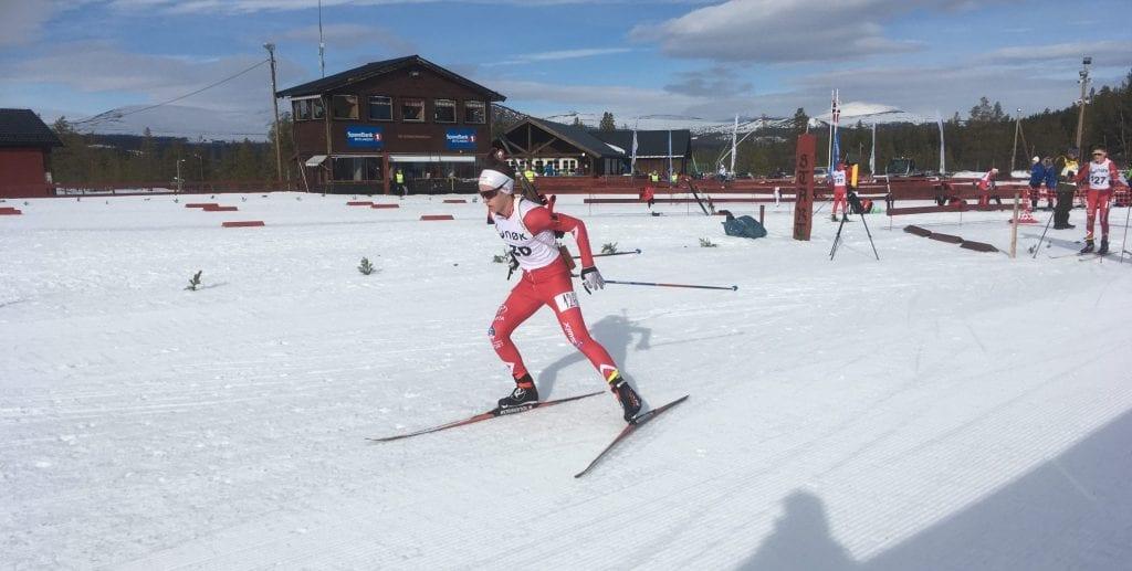 TIL TOPPS: Brynjar Thorshaug tok hjem seieren under lørdagens NØK cup. Foto: Privat