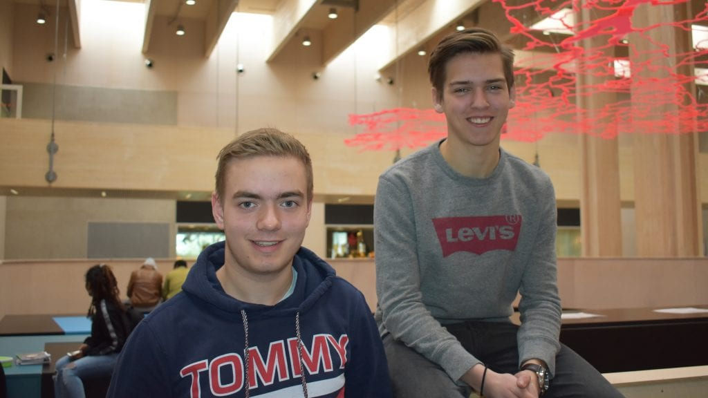 Henrik Ledang og Brynjar Thorshaug er idrettslagets to eldste skiskyttere.