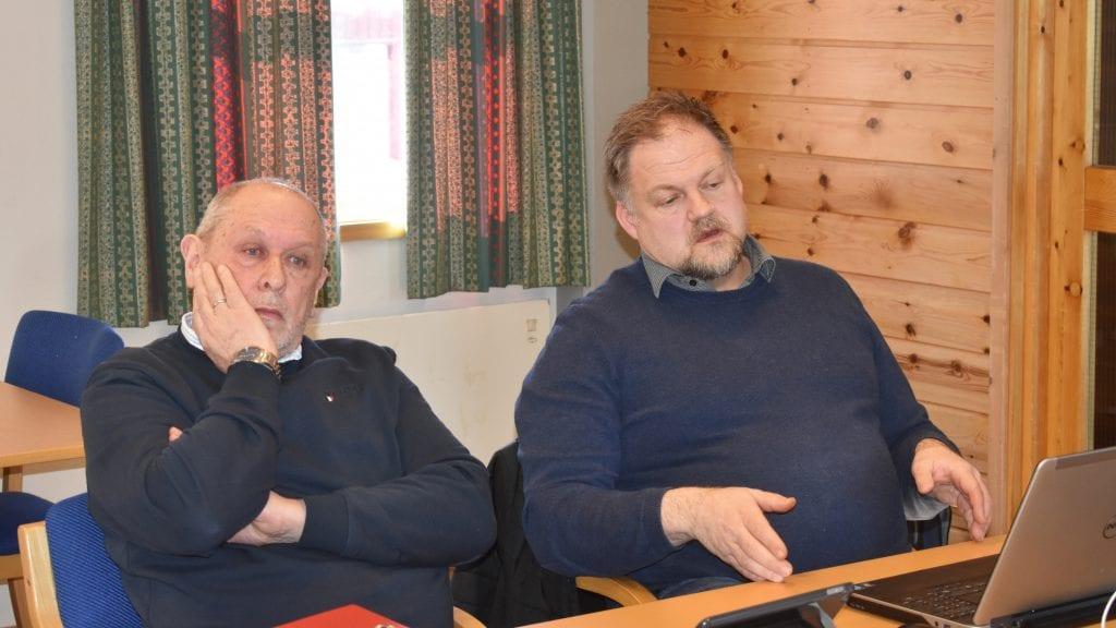 TILLIT: Ordfører Johnny Hagen (Ap) benyttet torsdagens formannskapsmøte til å si at han har tillit til rådmann Erling Straalberg. Foto: Torstein Sagbakken.