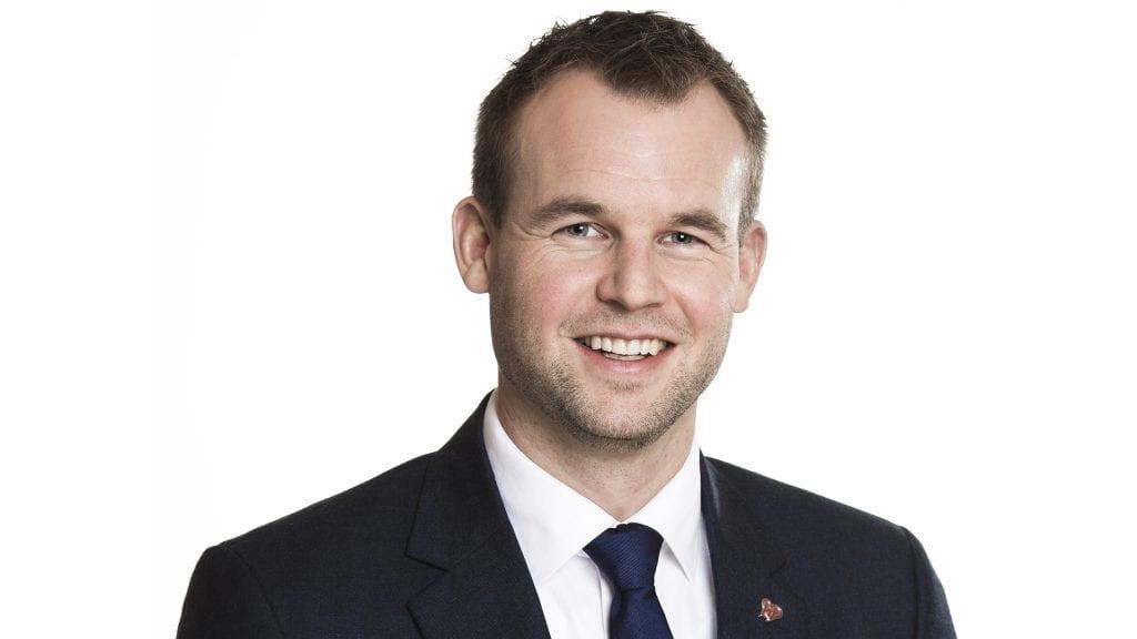 BARNETRYGD: Barne- og familieminister Kjell Ingolf Ropstad skriver om barnetrygden. Foto: Astrid Waller