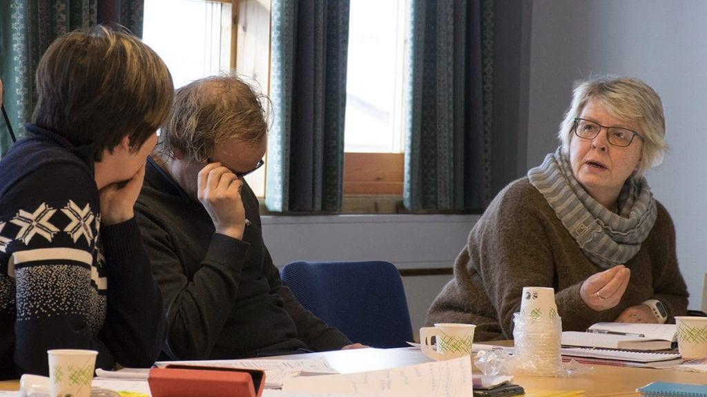 AVFEIER PÅSTANDENE: Personalsjef Ingrid Storrøsæter har blitt beskyldt for å drive et politisk spill ved å melde ordføreren til AMU. Dette avkrefter personalsjefen. Arkivfoto: Tore Rasmussen Steien.