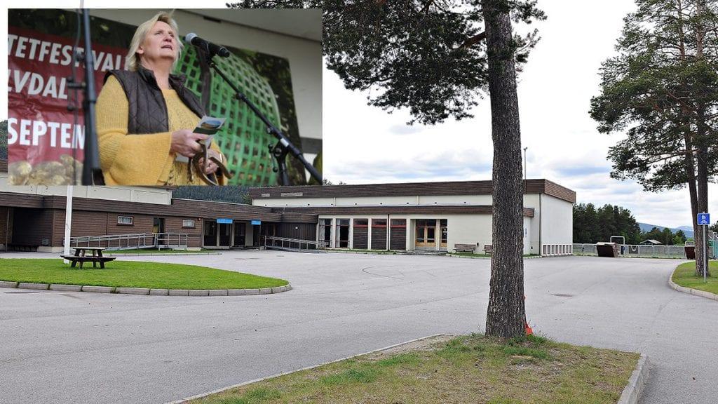 VIL KJØPE: Tirill Langleite ønsker å kjøpe samfunnshuset for å få til aktivitet som kan gagne bygda. Arkivfoto: Ivar Thoresen.