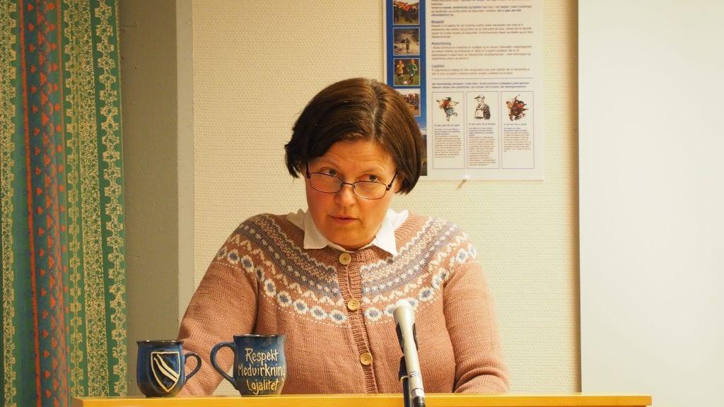 FORMANNSKAPET: Trine Vardenær Tharaldsteen tar over for Mari Kveberg som fast medlem i formannskapet. Foto: Audun Jøstensen Lutnæs