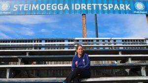 NYE UTFORDRINGER: Monika Larsen er klar for å ta fatt på nye utfordringer på Steimoegga. Foto: Audun Jøstensen Lutnæs