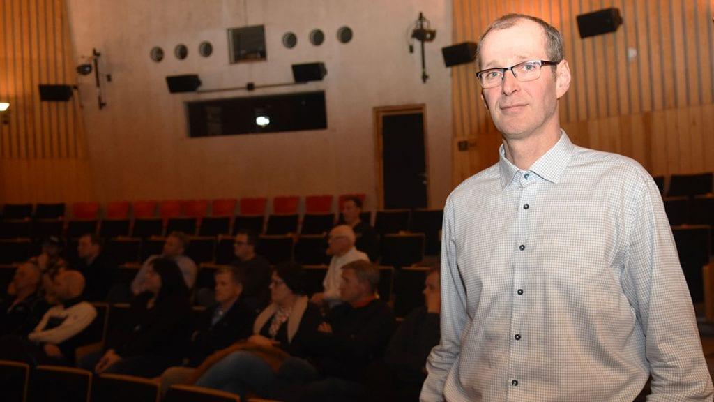 SKAPE MØTEPLASS: Assisterende rådmann i Alvdal kommune, Per Arne Aaen, ønsker sammen med Opplev Alvdal og skape en møteplass for næringslivet. Han sier det er etterspurt. Arkivfoto: Jan Kristoffersen.