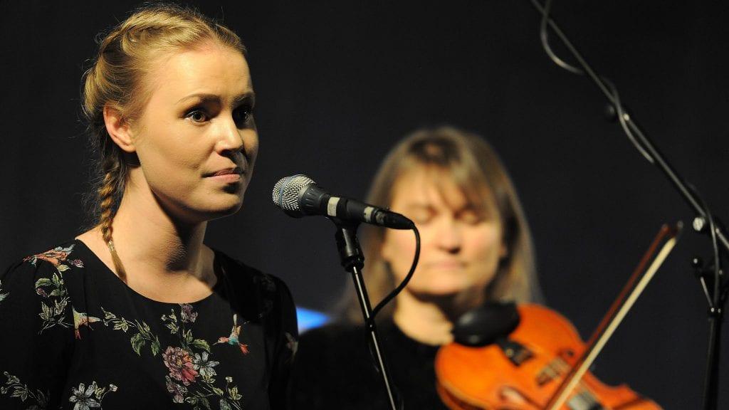 FÅR STIPEND: Maia Reppe får talentstipend. Foto: Ivar Thoresen