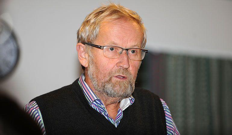 MÅ VISE INNSATS: Per Hvamstad mener kommunen må vise konkret innstas som eier av Jensenhuset og ta ansvaret for bygget. Arkivfoto: Ivar Thoresen.
