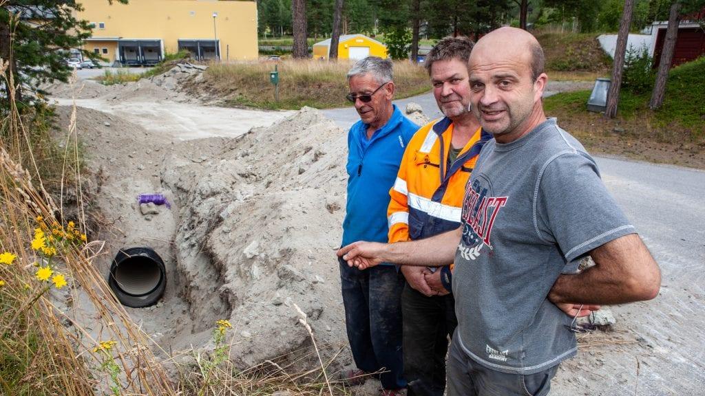 Sp-representanter imponert over Alvdal Biovarme